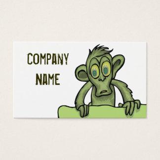 Cartoon Monkey Business Cards & Templates | Zazzle