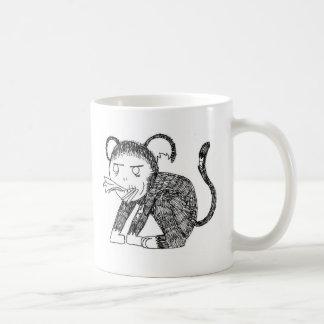 Zombie Monkey Hungry! Coffee Mug