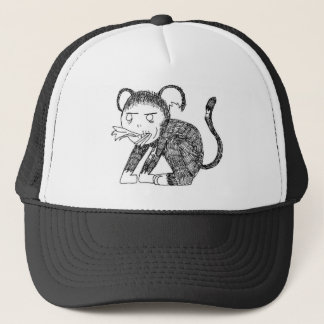 Zombie Monkey Hungry! Trucker Hat