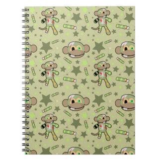 Zombie Monkey Notebook