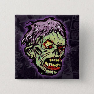 Zombie Monster (shock) Button