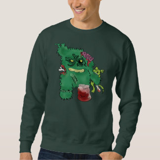zombie monster sweatshirt