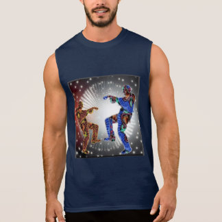 ZOMBIE Moon DANCE Sleeveless Shirt