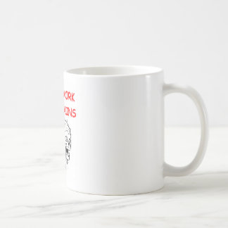 zombie classic white coffee mug