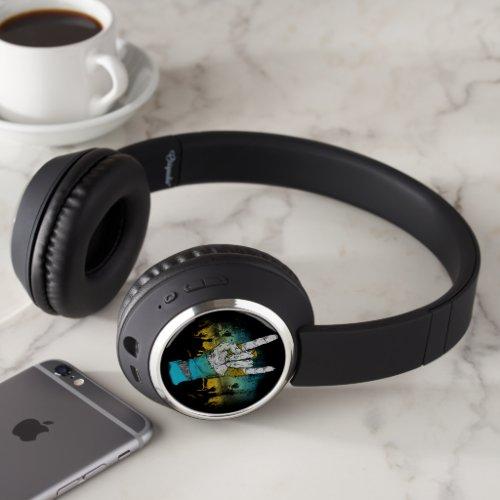 Zombie Music Rock Concert Wireless Headphones