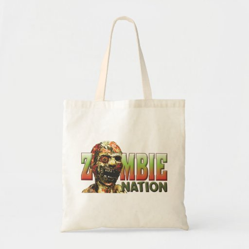 Zombie Nation Canvas Bags