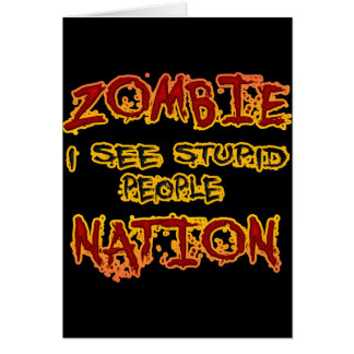 Zombie Nation Card