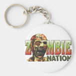 Zombie Nation Key Chains