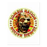 Zombie Nation Postcard