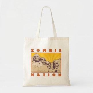 Zombie Nation Tote Bag--Nerdtastic Designs