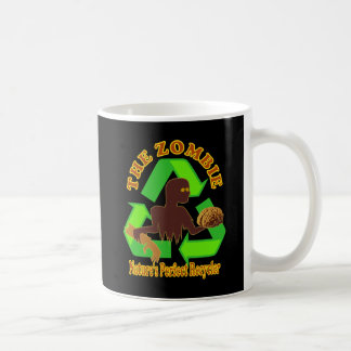 Zombie Nature's Perfect Recycler Design Mugs