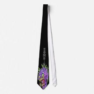 Zombie necktie Kustom Kulture by Scorch