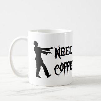 Zombie Need Coffee Mugs