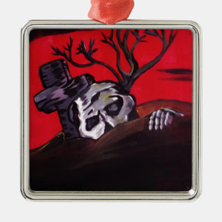 Zombie Night Ornament