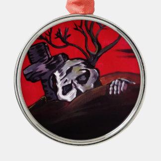 Zombie Night Christmas Ornaments