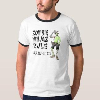 Zombie Ninjas Rule - Believe It! Tee Shirt