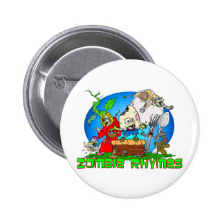 Zombie Nursery Rhymes Button