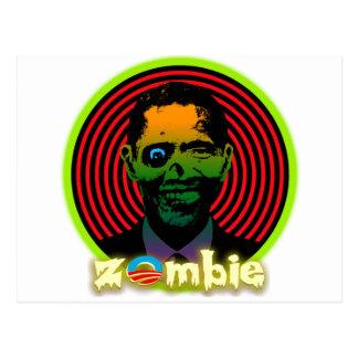 Zombie Obama 2012 Postcard