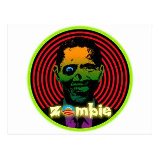 Zombie Obama 2012! Postcard