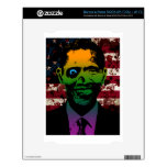 Zombie Obama Bloody Flag Skins For The NOOK