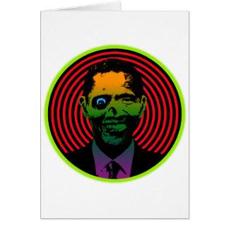 Zombie Obama Card