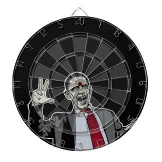 Zombie Obama Dart Board Sets