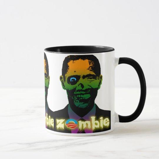 Zombie Obama Mug