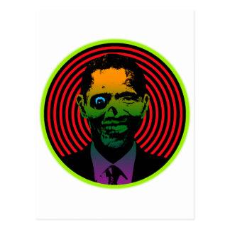 Zombie Obama Postcard