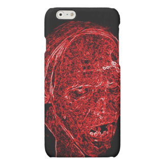 Zombie of Neon Decay Matte iPhone 6 Case
