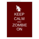 zombie on greeting cards