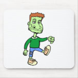 Zombie On The Loose Mouse Pad