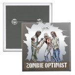 Zombie Optimist - Button