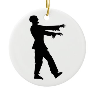 Zombie Christmas Tree Ornaments