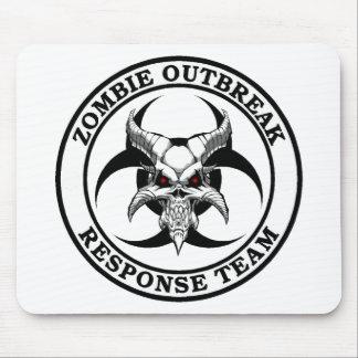 Zombie Outbreak Biohazard Demon Mouse Pad
