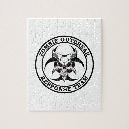 Zombie Outbreak Biohazard Demon Puzzles