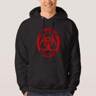 zombie outbreak hooded sweatshirt