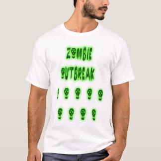 zombie outbreak horde shirt