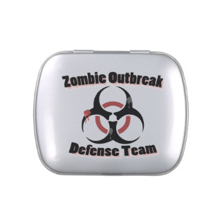 Zombie Outbreak Jelly Belly Candy Tins