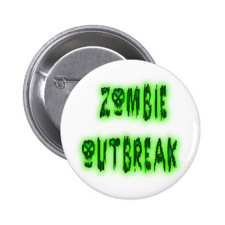 Zombie Outbreak pin