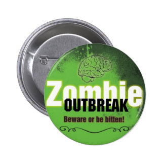 Zombie Outbreak Pins