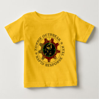 Zombie Outbreak Rapid Response - Green Sights Baby T-Shirt