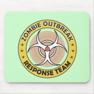 zombie outbreak response mouse pad