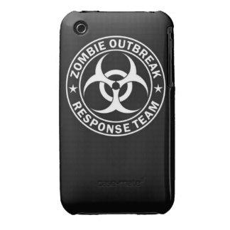 zombie outbreak response team bio hazard walking d iPhone 3 cover