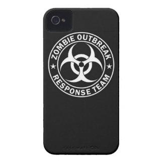 zombie outbreak response team bio hazard walking d iPhone 4 cover