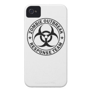 zombie outbreak response team bio hazard walking d iPhone 4 cover