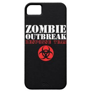 zombie outbreak response team bio hazard walking d iPhone SE/5/5s case