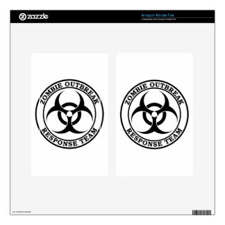 Zombie Outbreak Response Team (Biohazard) Kindle Fire Skins