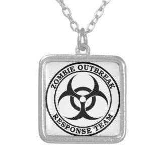 Zombie Outbreak Response Team (Biohazard) Necklace