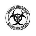 Zombie Outbreak Response Team (Biohazard) Round Clock