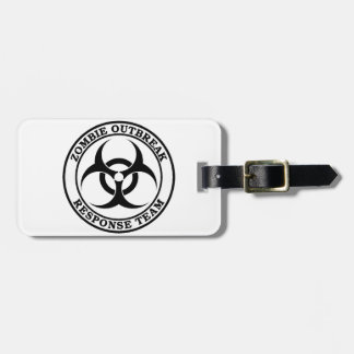 Zombie Outbreak Response Team (Biohazard) Tags For Bags